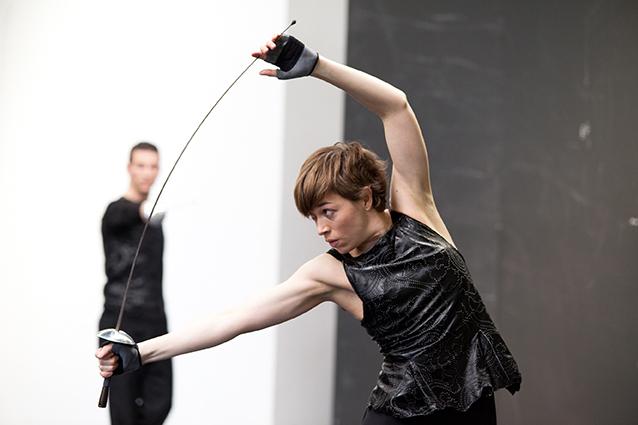 danse contemporaine, création 2014