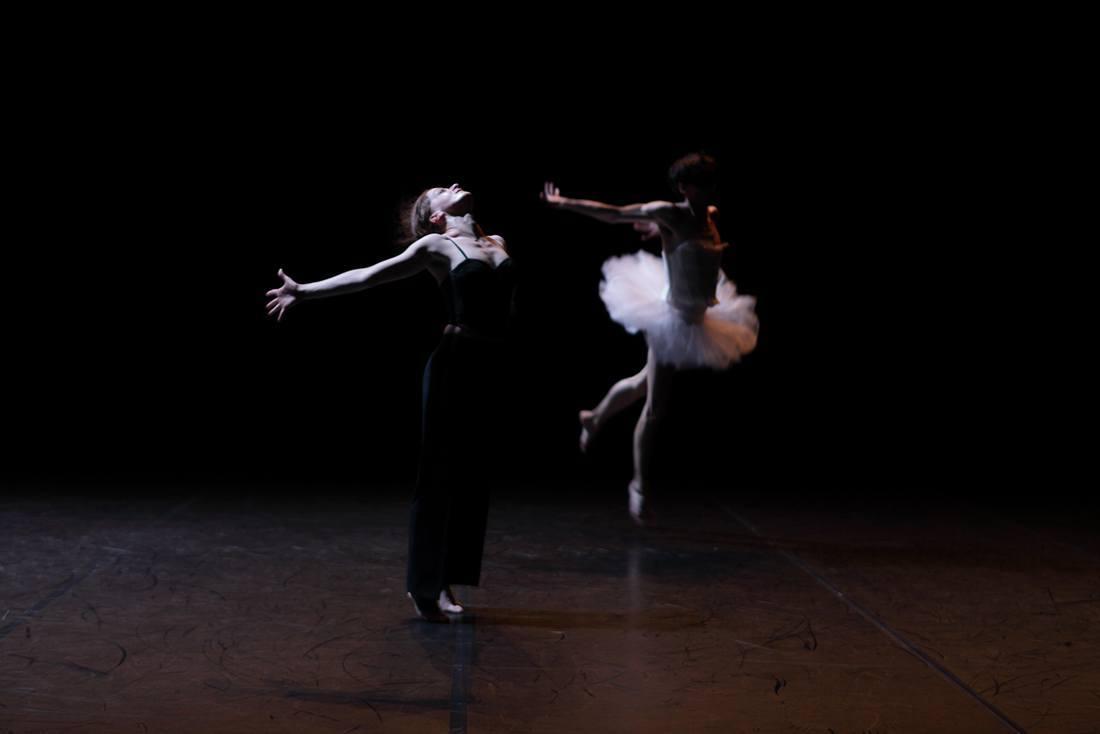 Encore danse contemporaine 2010 danseuses étoile tutu blanc